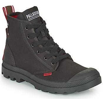 Boty Kotníkové boty Palladium PAMPA METRO Černá