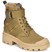Boty Ženy Kotníkové boty Palladium PALLABASE TACT S TX Zelená