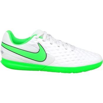 Boty Děti Fotbal Nike JR Tiempo Legend 8 Club IC Bílé