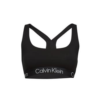 Spodní prádlo Ženy Sportovní podprsenky Calvin Klein Jeans UNLINED BRALETTE Černá