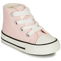 Boty Dívčí Kotníkové tenisky Citrouille et Compagnie NEW 19 Růžová
