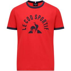 Textil Chlapecké Trička s krátkým rukávem Le Coq Sportif Bat Tee SS N°4 Kids Červená