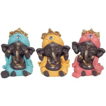 Bydlení Sošky a figurky Signes Grimalt Ganesh Nevidí, Slyšet, Mluvit 3U Multicolor