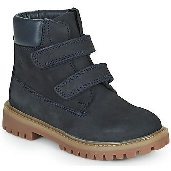 Boty Chlapecké Kotníkové boty Citrouille et Compagnie PAXA Modrá