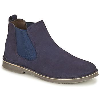 Boty Děti Kotníkové boty Citrouille et Compagnie HOVETTE Tmavě modrá