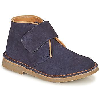 Boty Chlapecké Kotníkové boty Citrouille et Compagnie NANUP Tmavě modrá