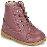Boty Dívčí Kotníkové boty Citrouille et Compagnie PUMBAE Růžová