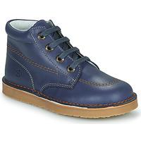 Boty Chlapecké Kotníkové boty Citrouille et Compagnie PIMON Tmavě modrá