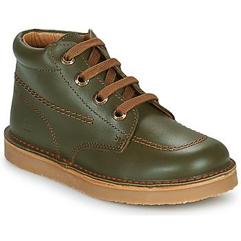 Boty Chlapecké Kotníkové boty Citrouille et Compagnie PIMON Zelená