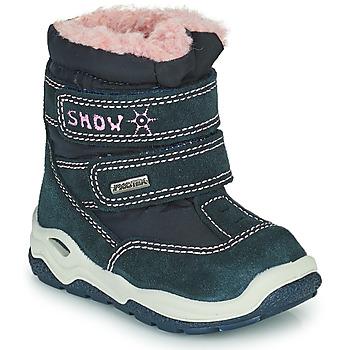 Boty Dívčí Zimní boty Citrouille et Compagnie POUDOU Modrá / Růžová