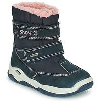 Boty Chlapecké Zimní boty Citrouille et Compagnie POUDOU Modrá / Růžová