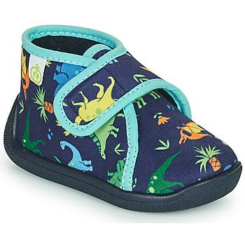 Boty Chlapecké Papuče Citrouille et Compagnie PASTACARBO Tmavě modrá
