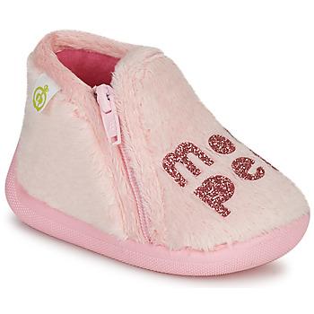Boty Dívčí Papuče Citrouille et Compagnie PRADS Růžová