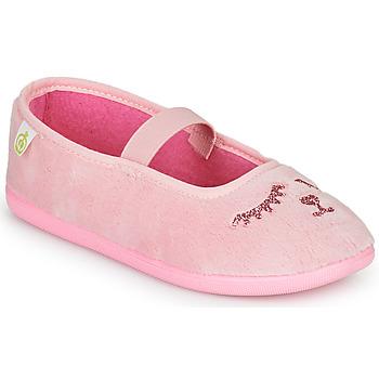 Boty Dívčí Papuče Citrouille et Compagnie PIDDI Růžová