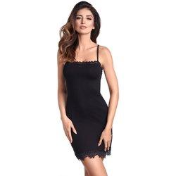 Textil Ženy Pyžamo / Noční košile Ewana Noční košile Sisi czarna
