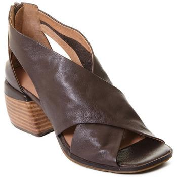 Boty Ženy Sandály Rebecca White T0409  Rebecca White  D??msk?? kotn??kov?? boty z telec?? k??e v k??vo