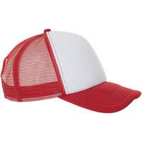 Textilní doplňky Čepice Sols BUBBLE Blanco Rojo Rojo