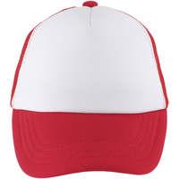 Textilní doplňky Kšiltovky Sols BUBBLE KIDS Blanco Rojo Rojo