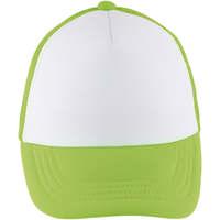 Textilní doplňky Kšiltovky Sols BUBBLE KIDS Blanco Verde Neon Verde