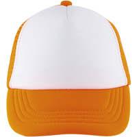 Textilní doplňky Kšiltovky Sols BUBBLE KIDS Blanco Naranja Fluor Naranja