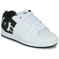 Boty Muži Skejťácké boty DC Shoes COURT GRAFFIK Bílá / Černá