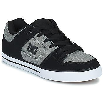 Boty Muži Skejťácké boty DC Shoes PURE Šedá / Černá