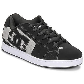 Boty Muži Skejťácké boty DC Shoes NET Černá / Šedá