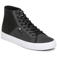 Boty Muži Kotníkové tenisky DC Shoes MANUAL HI TXSE Černá / Bílá