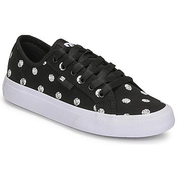 Boty Ženy Nízké tenisky DC Shoes MANUAL TXSE Černá / Bílá