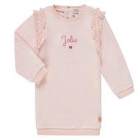 Textil Dívčí Krátké šaty Carrément Beau ABRICOT Růžová
