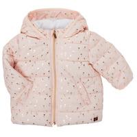 Textil Dívčí Prošívané bundy Carrément Beau ACAJOU Růžová