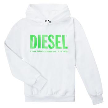 Textil Děti Mikiny Diesel SDIVISION LOGOX OVER Bílá