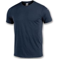Textil Chlapecké Trička s krátkým rukávem Joma T-shirt  NIMES bleu marine