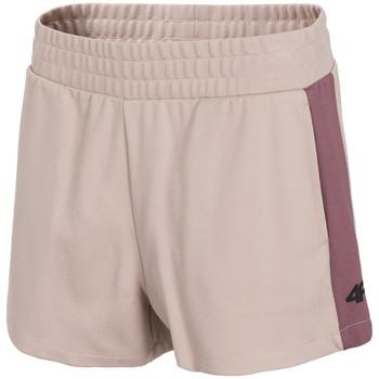 Textil Ženy Kraťasy / Bermudy 4F Women's Shorts Růžová