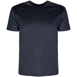 Textil Muži Trička s krátkým rukávem Les Hommes  Modrá