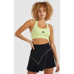 Textil Ženy Sportovní podprsenky Ellesse TOP SUJETADOR MUJER  SRI11178 Žlutá