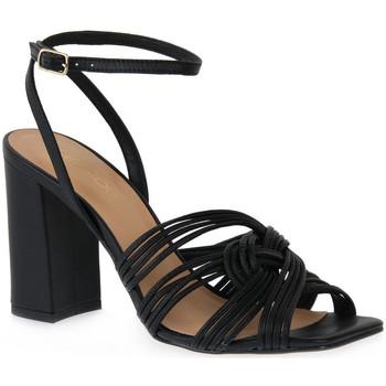 Boty Ženy Sandály Miss Unique UNIQUE   PRETO SMOOTHIE Nero