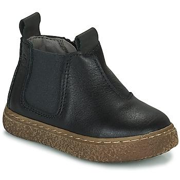 Boty Chlapecké Kotníkové boty Citrouille et Compagnie PESTACLE Černá