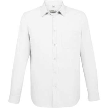 Textil Muži Košile s dlouhymi rukávy Sols BALTIMORE FIT BLANCO Blanco