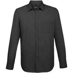 Textil Muži Košile s dlouhymi rukávy Sols BALTIMORE FIT GRIS TITANIO Otros