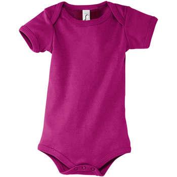 Textil Chlapecké Tílka  Sols BAMBINO FUCSIA Violeta