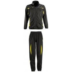 Textil Teplákové soupravy Sols CAMP NOU Negro-amarillo Negro