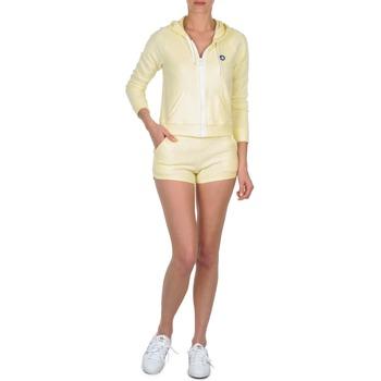 Textil Ženy Kraťasy / Bermudy Petit Bateau TOUPET Žlutá