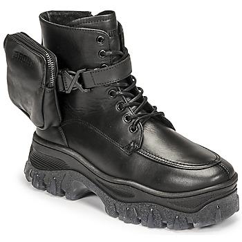 Boty Ženy Kotníkové boty Bronx JAXSTAR MID Černá