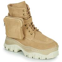Boty Ženy Kotníkové boty Bronx JAXSTAR MID Béžová