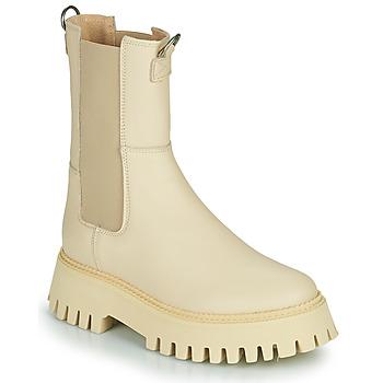 Boty Ženy Kotníkové boty Bronx GROOV Y Béžová