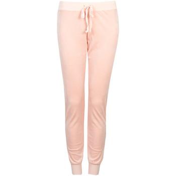 Textil Ženy Teplákové kalhoty Juicy Couture  Růžová