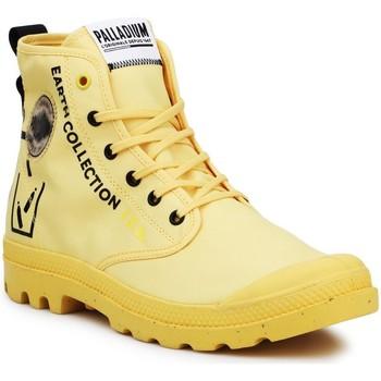 Boty Kotníkové tenisky Palladium Pampa 77054-713-M black, yellow