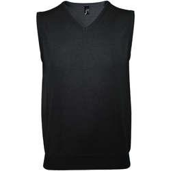 Textil Muži Oblekové vesty Sols GENTLEMEN Negro Negro