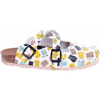 Boty Ženy Pantofle Forcare Dámské pantofle  101005 bílá-multi Bílá
